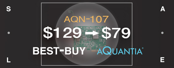 AQtion AQN-107 10 GbE Network Interface Adapter