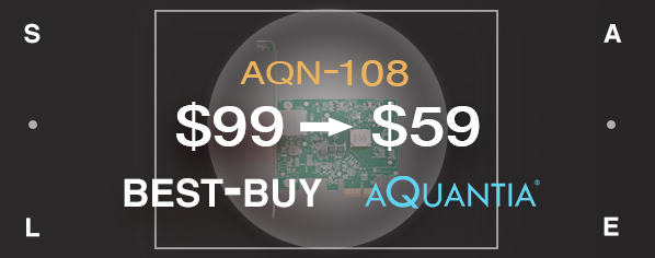 AQtion AQN-108 5 GbE/2.5 GbE Network Interface Adapter